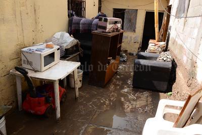 Las precipitaciones pluviales que provocaron la inundación tuvieron una intensidad de 18 milímetros.