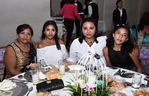 28072016 Paola, Dalila, Marijose y Verónica.