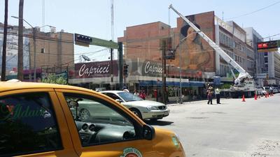 """Las impactantes obras a gran escala han """"invadido"""" el Centro de Torreón."""
