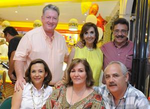 03082016 Antonio, Lourdes, Humberto, Imelda, Aracely y Ricardo.