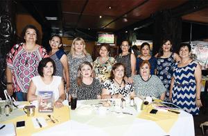 07082016 EN DESAYUNO.  Mirta Valverde, Rosy Huizar, Sonia Díaz, Nena Limones, Martha Frayre, Luz Elva Frayre, Melba Rodríguez, Paloma Luna, Paty Acevedo, Marcela Limones, Alicia Pérez y Raquel Llaca.