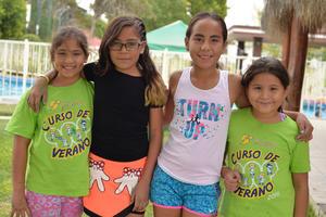 05082016 Ivanna, Ana Cecy, Isabella y Sofía.