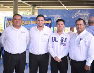 08082016 Guillermo, Eduardo, Eduardo y Jesús.