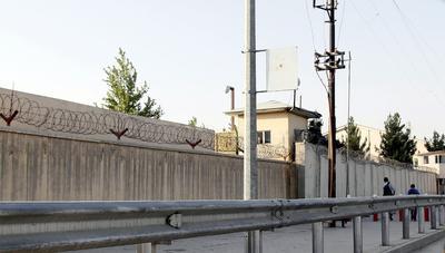 Vista general de la Universidad Americana de Afganistán (AUEF) en Kabul, Afganistán.