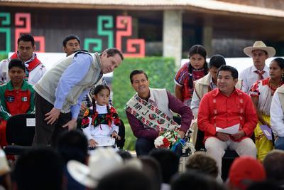El presidente reconoció el gran aporte que las etnias del país han dado a la identidad, el orgullo nacional y la generación de riqueza.