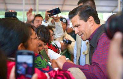 El presidente Enrique Peña Nieto celebró el Día Internacional de los Pueblos Indígenas.