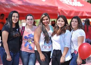 10082016 Liz, Ximena, Perla, Fernanda y Paola.