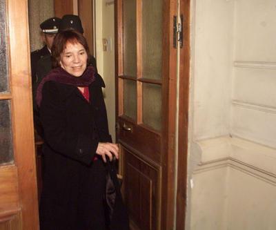 Fotografía de archivo del 18 de julio de 2003 de la chilena Mariana Callejas, una escritora que se convirtió en agente de la policía secreta de Augusto Pinochet y fue condenada por violaciones a los derechos humanos.