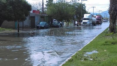 En La Laguna de Durango, también hubo afectaciones.
