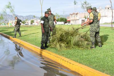 Los militares realizaron su propia estrategia de seguridad con fines preventivos.