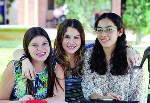 14082016 Daniela, Vero y Graciela.