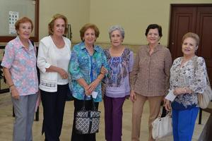 14082016 EN EL TIM.  Guillermina, Enriqueta, Pilar, Aurora, Maricruz y Tere.