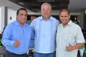 14082016 Agustín, Héctor, Saúl y Antonio.