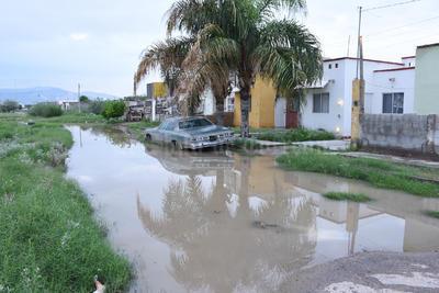 Los habitantes de Mayrán y Residencial del Norte sufren cada que hay lluvias.