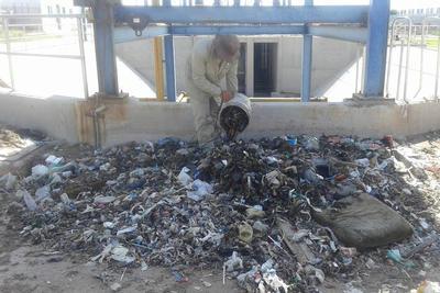 La cantidad de desechos que se tiran es alarmante.