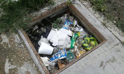 Es grave el tiradero de basura que se hace a las redes sanitarias y lo que afecta al funcionamiento.