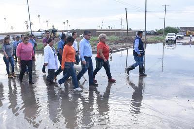 La propuesta de obra comenzará apenas se seque la humedad generada por las lluvias.