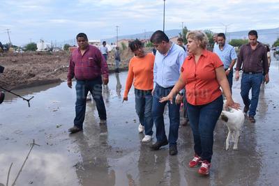 Riquelme dijo que hablará con el gobernador Rubén Moreira para la autorización de recursos de la construcción del cárcamo.
