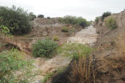 El agua beneficiará a los productores agrícolas.