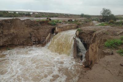 Por las constantes lluvias la Conagua decidió realizar el desfogue.