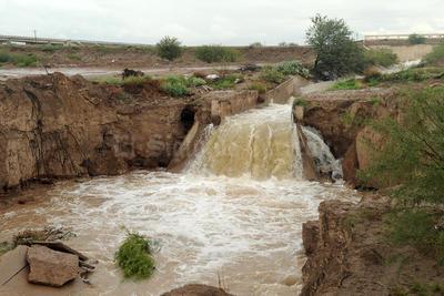 El desfogue de la presa comenzó el pasado viernes a las 18:00 horas.