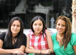 Brenda, Angie y Wendy