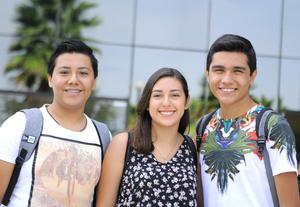 Diego, Sofía y Edmundo