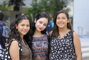 Luisa, Paty y Sofía