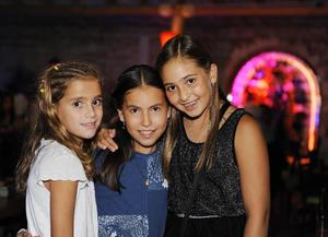 María, Karlita y Alejandra