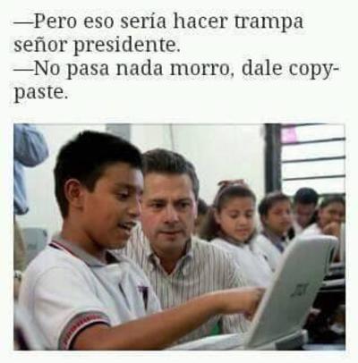 El presidente Enrique Peña Nieto volvió a acaparar los memes.