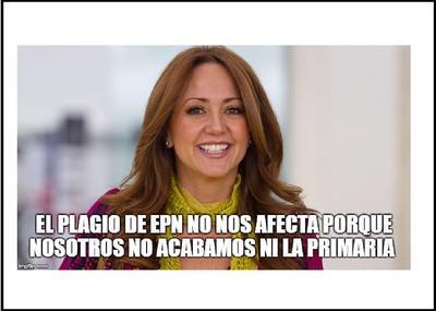 Andrea Legarreta no faltó entre los memes.