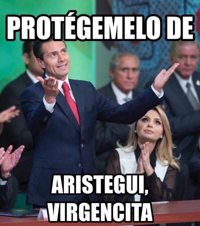 Peña Nieto volvió a protagonizar memes por el supuesto plagio de su tesis.