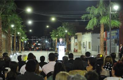 """José Miguel Campillo rindió el último informe de su administración municipal, en lo que definió como """"la conclusión de un ciclo, de un proyecto de resultados para Gómez Palacio""""."""