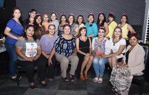 22082016 BABY SHOWER.  Sabrina Delgado de Gómez acompañada de familiares y amigas en la fiesta de canastilla que le organizaron Ivonne de Delgado y Lucy de Gómez por el próximo nacimiento de su bebé.