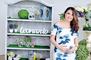 21082016 Florencia Castañeda en la espera de su bebé.