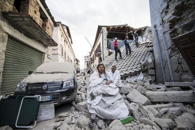 El sismo dejó grandes afectaciones en las viviendas.