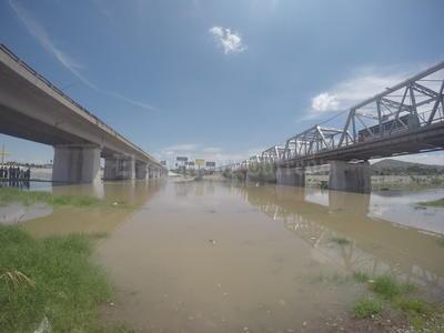 El gasto que se vertió por el lecho del Río Nazas fue a 65 metros cúbicos por segundo.