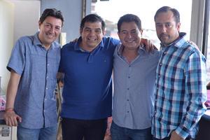 25082016 Luis, Juan Carlos, Paco y Javier.