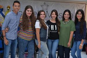 26082016 Emmanuel, Andrea, Sabrina, Fernanda, Karen y Mafer.