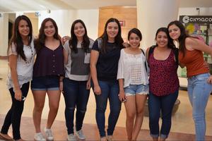 26082016 Itzel, Karla, Mariana, Andrea, Natalia, Karina y Mely.