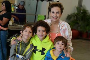 26082016 Elena, Luis Jesús, Carlos y Marco.