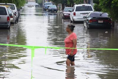 Doce colonias de La Laguna quedaron bajo el agua.