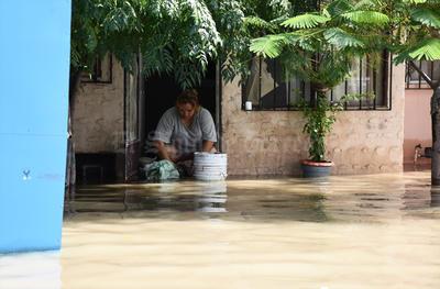 Laguneros sufrieron una vez más los estragos de las lluvias.