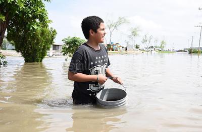 Pese a los daños de la tormenta, la Comisión Nacional del Agua (Conagua) reportó que la precipitación pluvial fue sólo de 24.5 milímetros, dato que generó duda en las autoridades municipales.