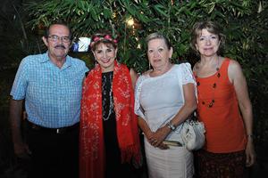 27082016 Arturo, Rosy, Susana y Carmen.