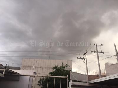 La tormenta se sintió en Torreón, Gómez Palacio y Lerdo.
