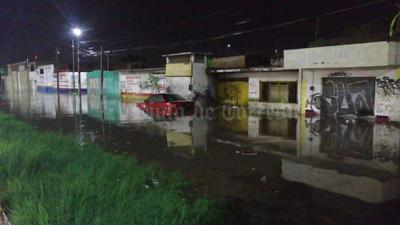 Los servicios de emergencia de Torreón reportaron precipitaciones leves sobre todo al norponiente de la ciudad.