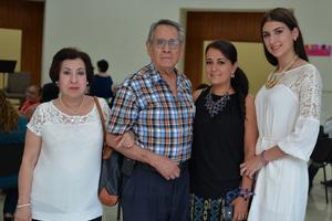 28082016 Rosy, Sergio, Karina y Sofía.