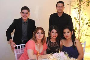 31082016 Eduardo, Alejandro, Lourdes, Dulce y Ana Laura.