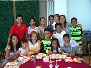 31082016 Margarita, Mateo, Erick, Caro, Pablo y Silvana.